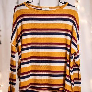 Striped Thin Sweater
